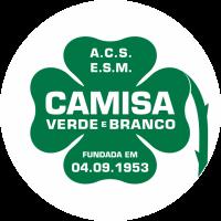 Escolas de Samba SP - Camisa Verde e Branco