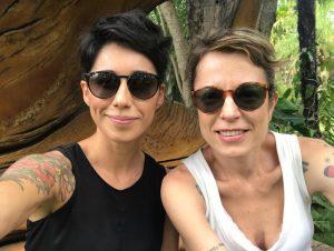 Daiana Rodríguez e Lúcia Calasso